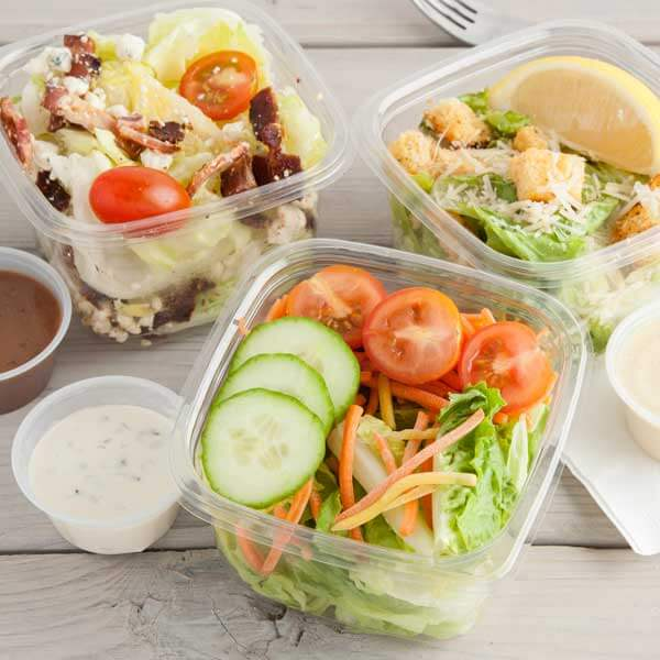 Find ready-to-go salads at Metropolitan Market